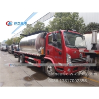 China Shacman 4x2 5800L 6T Bitumen Spreader Truck For Paving Road wholesale