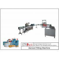 China Rotary Automatic Aerosol Gas Filling Machine Capacity 3600CPH For Butane Gas wholesale