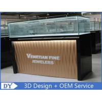 China Custom Modern Design Glass Jewellery Shop Display Counters wholesale