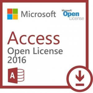 Microsoft Access 2016 Open License Runs On Windows Open Business