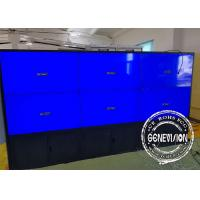 China 6 Monitors Touch Screen Kiosk Monitor Floorstanding TV Screens 49 Inch High Brightness wholesale