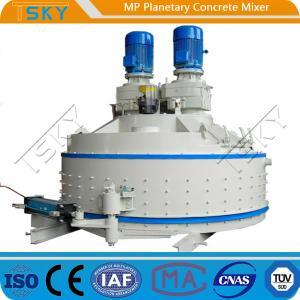 China 4500L Feeding 110KW MP4500/3000 Planetary Concrete Mixer wholesale