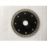 China Black Turbo Rim Diamond Blade Granite Diamond Cutting Blade 105MM-350MM wholesale