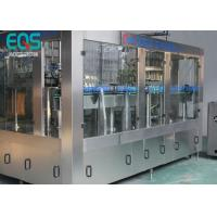 China 275ml / 300ml /500ml Glass Bottle Carbonated Soda Filling Machine Automatic 3 - In -1 wholesale