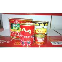 China xinjiang hot sauce!! 400g canned tomato sauce/paste brix 28-30% tomato ketchup with best price on sale
