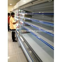 China Commercial Beverange Multideck Open Chiller Energy Efficiency For Market wholesale