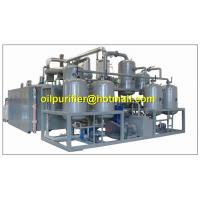 China Advanced vacuum distillation technology,refining base oil ,engine oil recycling system on sale