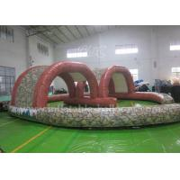 China Durable Inflatable Outdoor Games Racing Track For Promotional / Entertainment wholesale