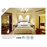 China Contemporary Mahogany Panel 5 Star Hotel Bedroom Furniture High Scratch Resistant wholesale