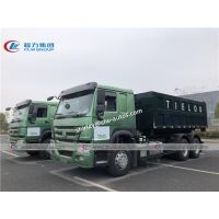 China Sinotruk Howo 336hp 20m3 Roll On Roll Off Garbage Truck wholesale