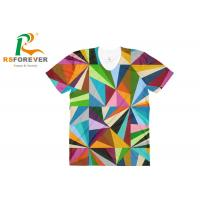 China Sublimation Full Printing T shirts, Low MOQ Custom T shirts / jerseys for men wholesale