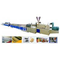 China 600mm Width Plastic Profile Production Line For Making Profiles wholesale