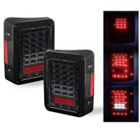 China Red / White Turn Signal Backup Stop LED Tail Lights 6000K 3600 LM / Kit wholesale