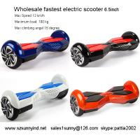 China electric scooter adults two wheels two wheel hoverboard for sale wholesale