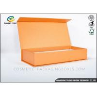 Quality Red Wine Cardboard Gift Boxes 4C Pantone Printing E - Flute Board Reinforcing Inserts for sale