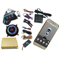 China Mobile App Control Gsm Car Security System Using Mobile Phone SMS Alarm Information Feedback wholesale