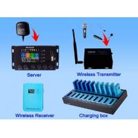 Buy cheap 2.4 G digital Wireless GPS Multilingual tour commentary system product