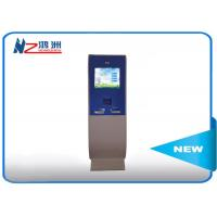 China Free Standing LCD Information Kiosk Self Service Aluminum Frame + Sheet Metal wholesale
