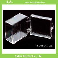 China Display Gifts Jewelry 4x4 PC Clear Plastic Enclosure Box wholesale