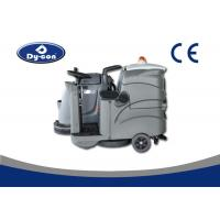 China Dycon Cordless Driving Ground Cleaner , Floor Scrubber Dryer Machine With One Brush wholesale
