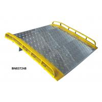 China Unassembled Aluminum Dock Plate With Aluminum Curbs 6 Feet Wide 4 Feet Long wholesale