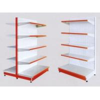 China White 5×1000 mm Layers Shelf Metal Display Shelf Supermarket Display Stands wholesale