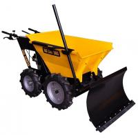 China Construction Mini Dumper 4X4 Heavy Duty Wheelbarrow with Snow Plough wholesale