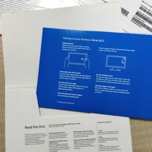 China STD KEY Code Windows Server 2012 R2 Standard OEM DVD Package 1 User For 1 PC wholesale