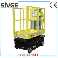 China 5m Working Height Aerial Scissor Lift Self Driven / Motor Driven For Fixture Works wholesale