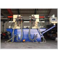 China Microcomputer Control Double Head Pipe Bending Machine Two Dimensional Angle wholesale