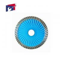 Quality 10 Inch Diamond Circular Saw Blade with Turbo Wave for Cutting Marble for sale