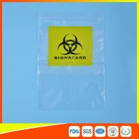 China Reclosable Clear Ziplock Lab Guard Specimen Bag With Three Layer wholesale