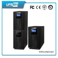 China Parallel Function Uninterrupted Power Supply , High Frequency Online UPS LCD Display wholesale