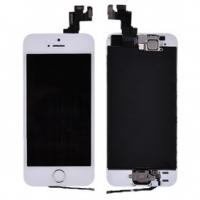 China LCD with Touch Screen Digitizer& Gold Home Button& Front Camera with Frame for iPhone 5S wholesale