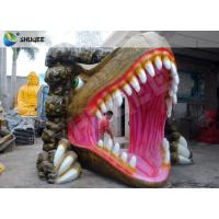 China Attractive Cinema 5D Simulator 5D Movie Theatre Dinosaur Design Cabin wholesale