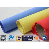 Buy cheap Red Silicone Rubber Coated Fiberglass Engineer Acoustic Insulation Fabric from wholesalers