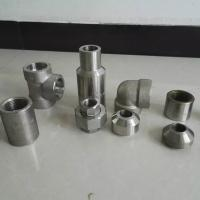 China ISO Duplex Stainless Steel Pipe Fittings MSS SP79 83 95 97 Plywood Case Packing wholesale