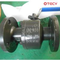 China ASTM A105N Floating Ball Valve, A182 F6A Ball & Seat, DN40, PN20 TECV on sale