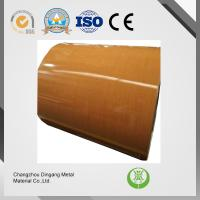 China Chemical Treatment Cold Rolled Steel Coil , 0.21mm Thickness Pre Painted Galvanized Iron Sheets on sale
