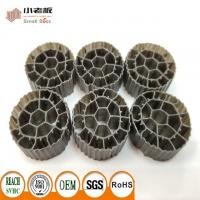Quality PE06 MBBR Filter Media With Balck Color And  Virgin HDPE Material For 25*12mm Size for sale