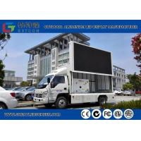 China Weatherproof 1R1G1B Led Mobile Screen Truck Advertisement Wide View Angle wholesale