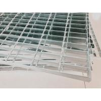 China Hot Dipped Galvanized Safety Grating Walkway Press Welded 2 4 6 Mm Square on sale