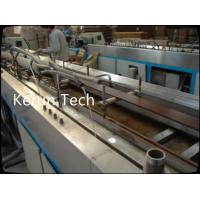 China Conical Twin Screw WPC Profile Making Machine / PVC Profile Production Line wholesale