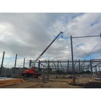 China Prefabricated Structure Steel Worksop Wide Span Metal Frame Building wholesale