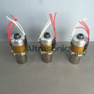 Quality 20Khz Branson Replacement Titanium Alloy Ultrasonic Converter 922JA for Welding Milk Juice Cap for sale