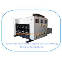 Buy cheap 2016 new design TB480 chain feeder 2 color printing slotting carton box making machine product