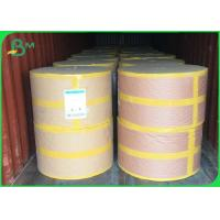 China Straw Surface & Middle Layer Biodegradable Waterproof Food Grade Paper Roll  60 GSM / 120 GSM wholesale