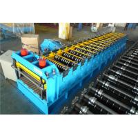 Buy cheap 60KW Silo Roll Forming Machine With Protect Cover / 2 Punching Stations from wholesalers