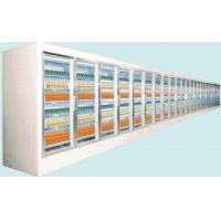 China Adjustable Shelves Tight Glass Door Freezer For the Counter Of Showing Items wholesale