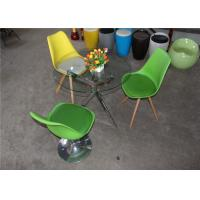 China Adjustable green bar chair with 380 reloving funtion H-310-1adjustable outdoor bar stools wholesale